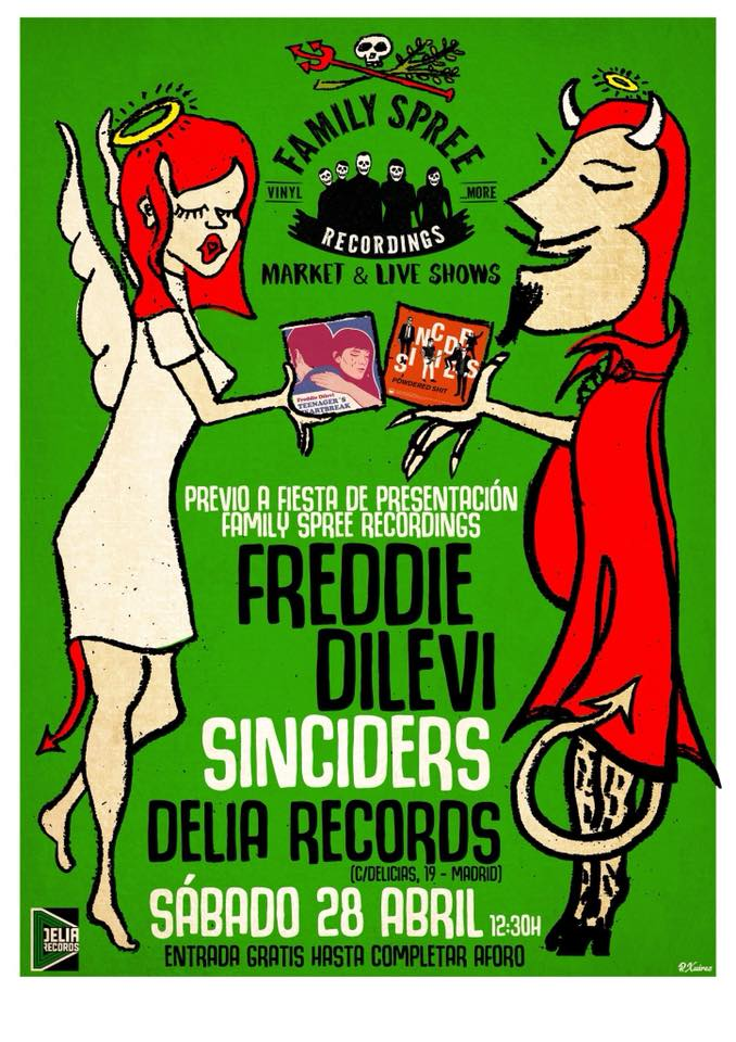 Family Spree Market & Live Show: Freddie Dilevi y Sinciders