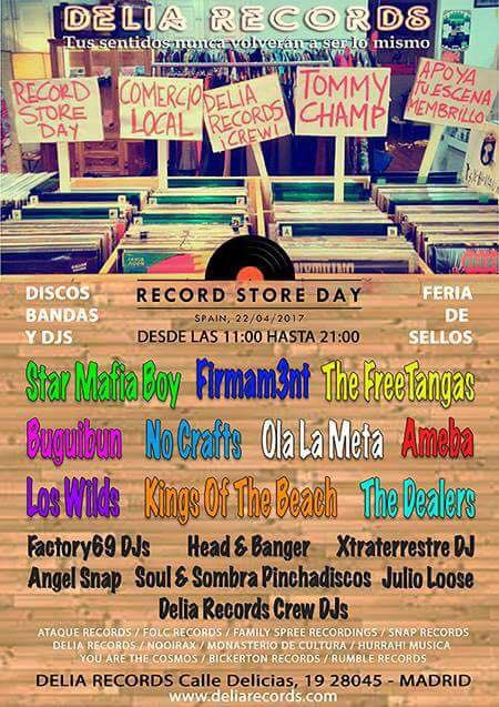 Record Store Day 2017 - Feria de Sellos Independientes